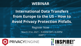 International Data Transfers from Europe to the US – How to Avoid Privacy Protection Pitfalls.